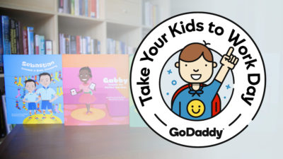 GoDaddy Celebrates 'Take Your Kids To Work Day' with Little Launchers