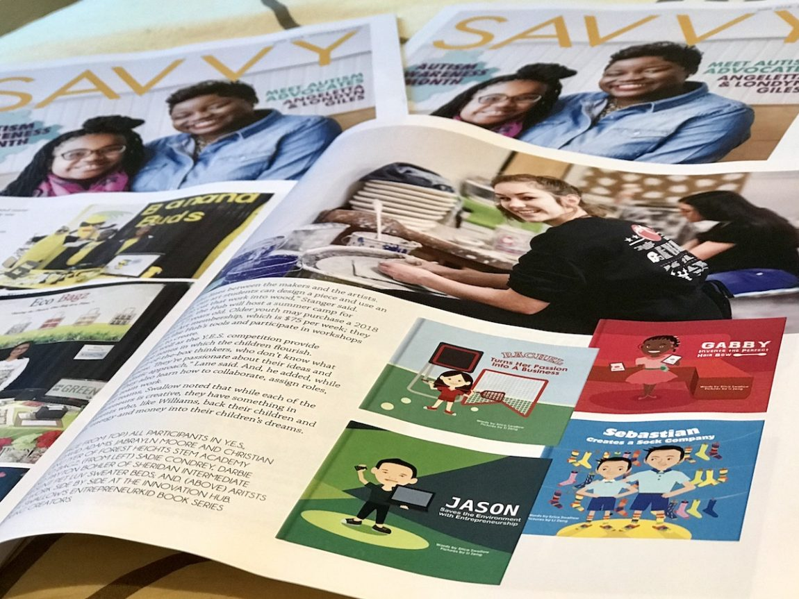 Find Little Launchers in SAVVY Magazine